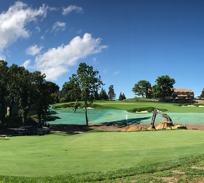 Private Golf Course Construction